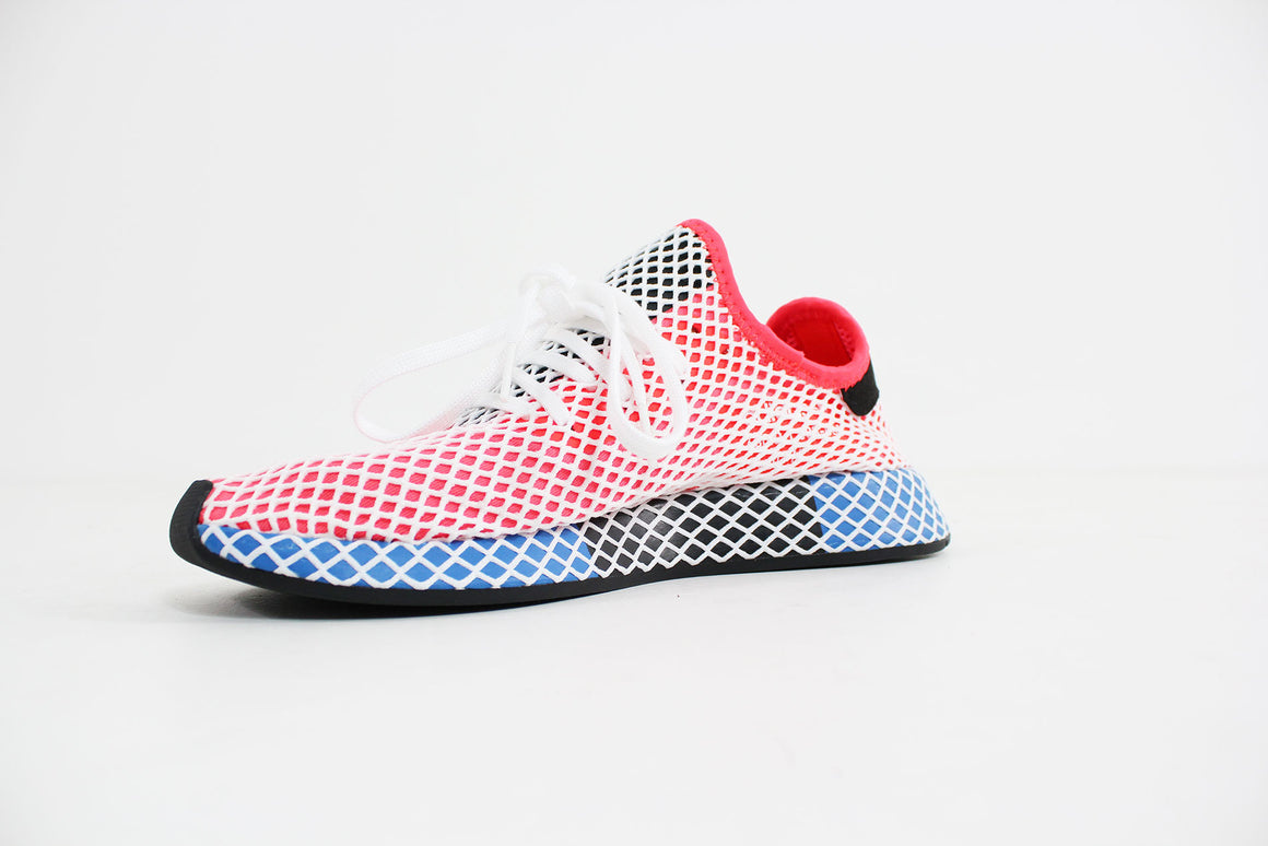 Adidas -  Deerupt Runner (Solar Red/ Solar Red/ Blue Bird) CQ2624