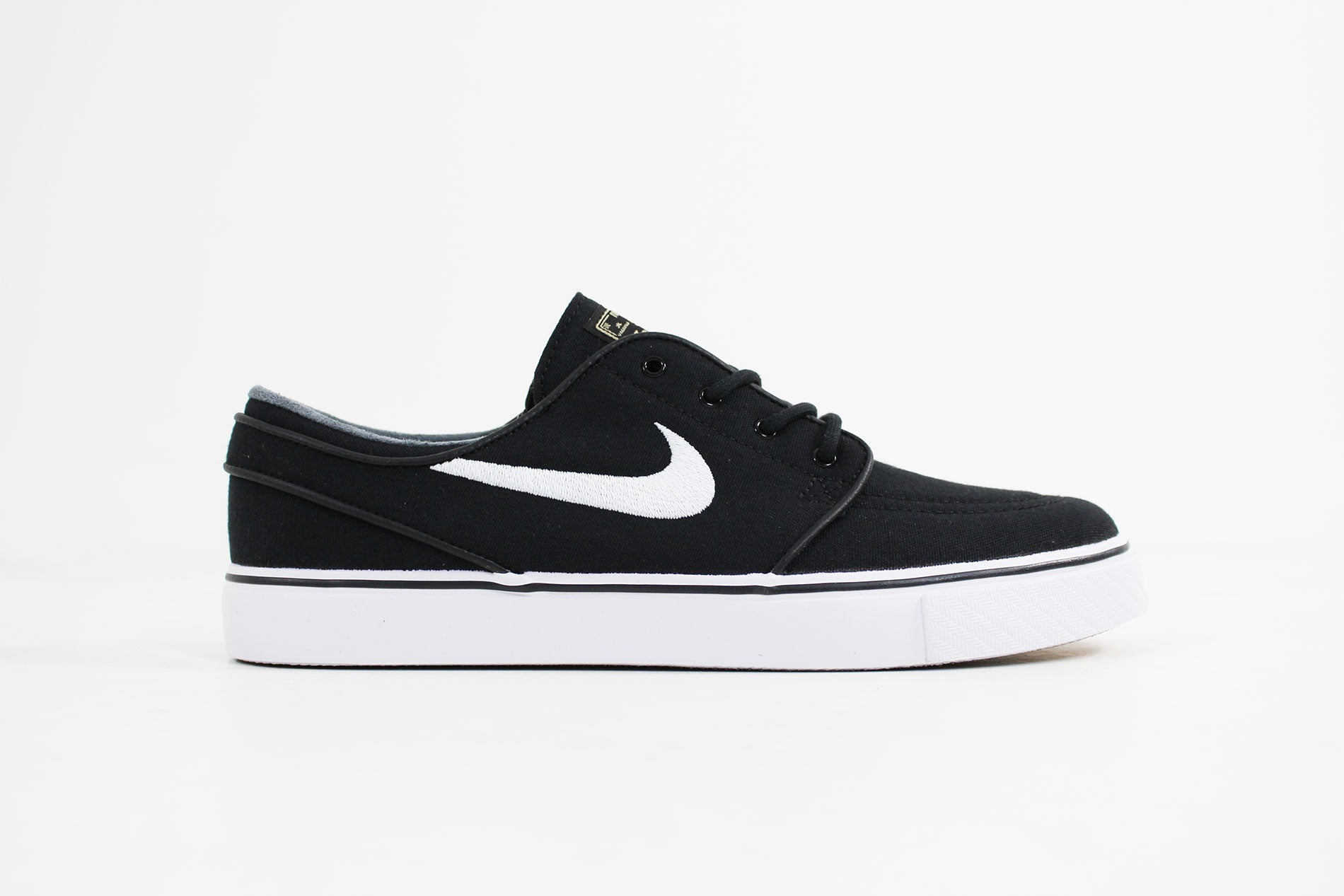 Nike - Stefan Janoski Canvas SB (Black/ White-Gum Light Brown) 615957-028
