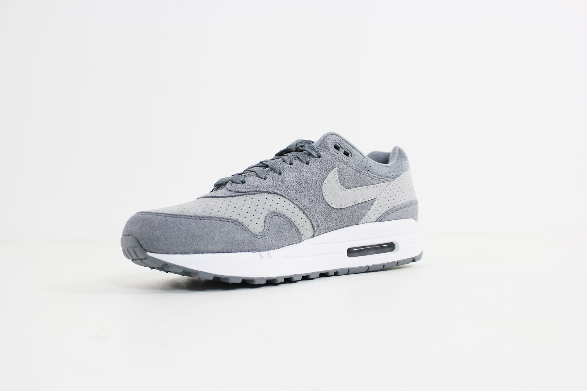 sports shoes ad0e9 7306e Nike - Air Max 1 Premium (Cool Grey  Wolf Grey-White) 875844-005. 875844-005.  Sold Out ...