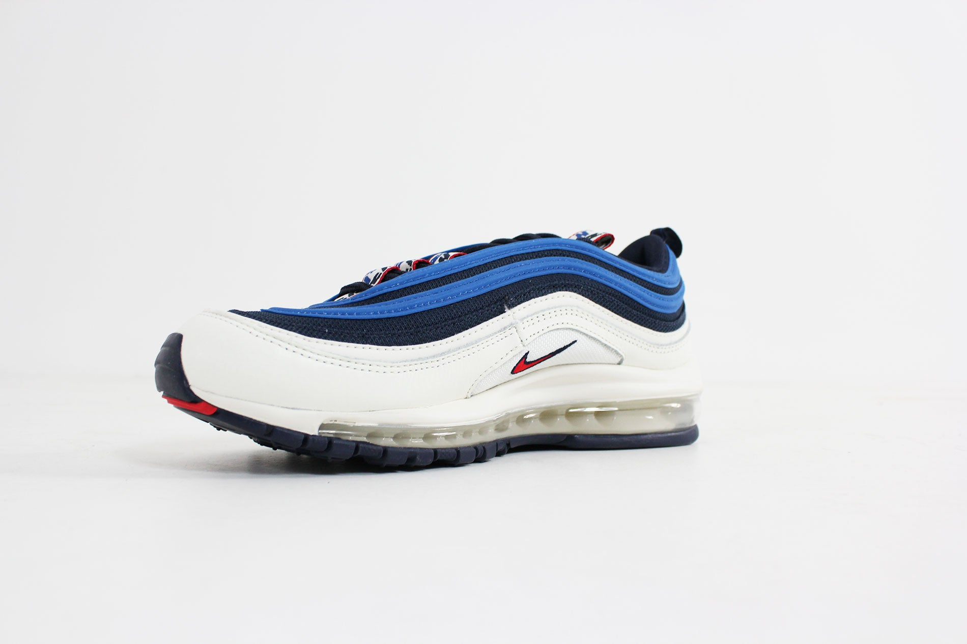 161d866e8c Nike - Air Max 97 SE (Obsidian/ University Red-Sail Blue Nebula) AQ4126-400
