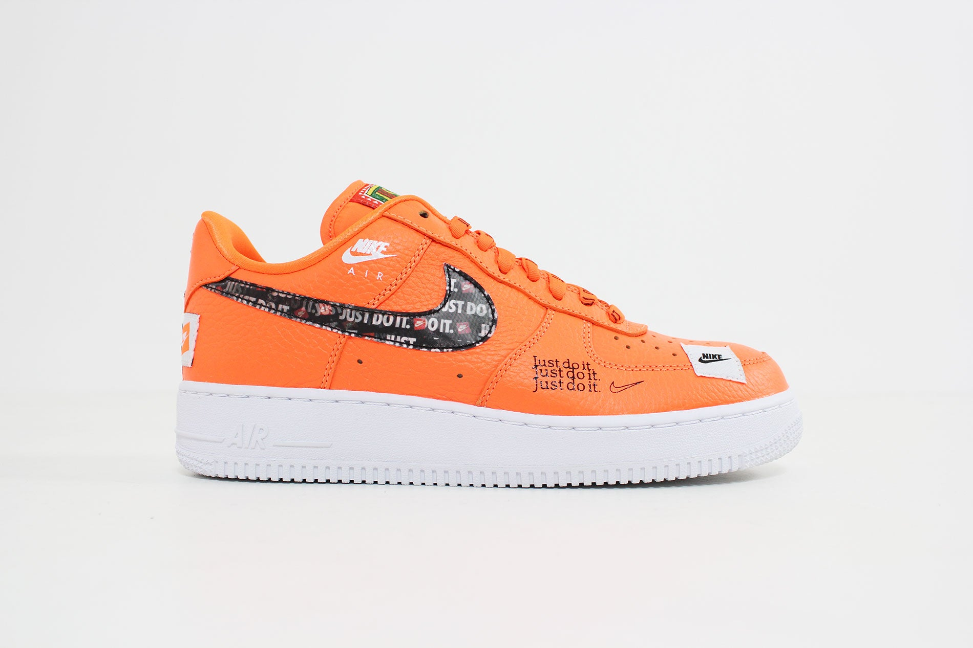 Nike - Air Force 1 Premium JDI (Total Orange/ Total Orange-Black White) AR7719-800