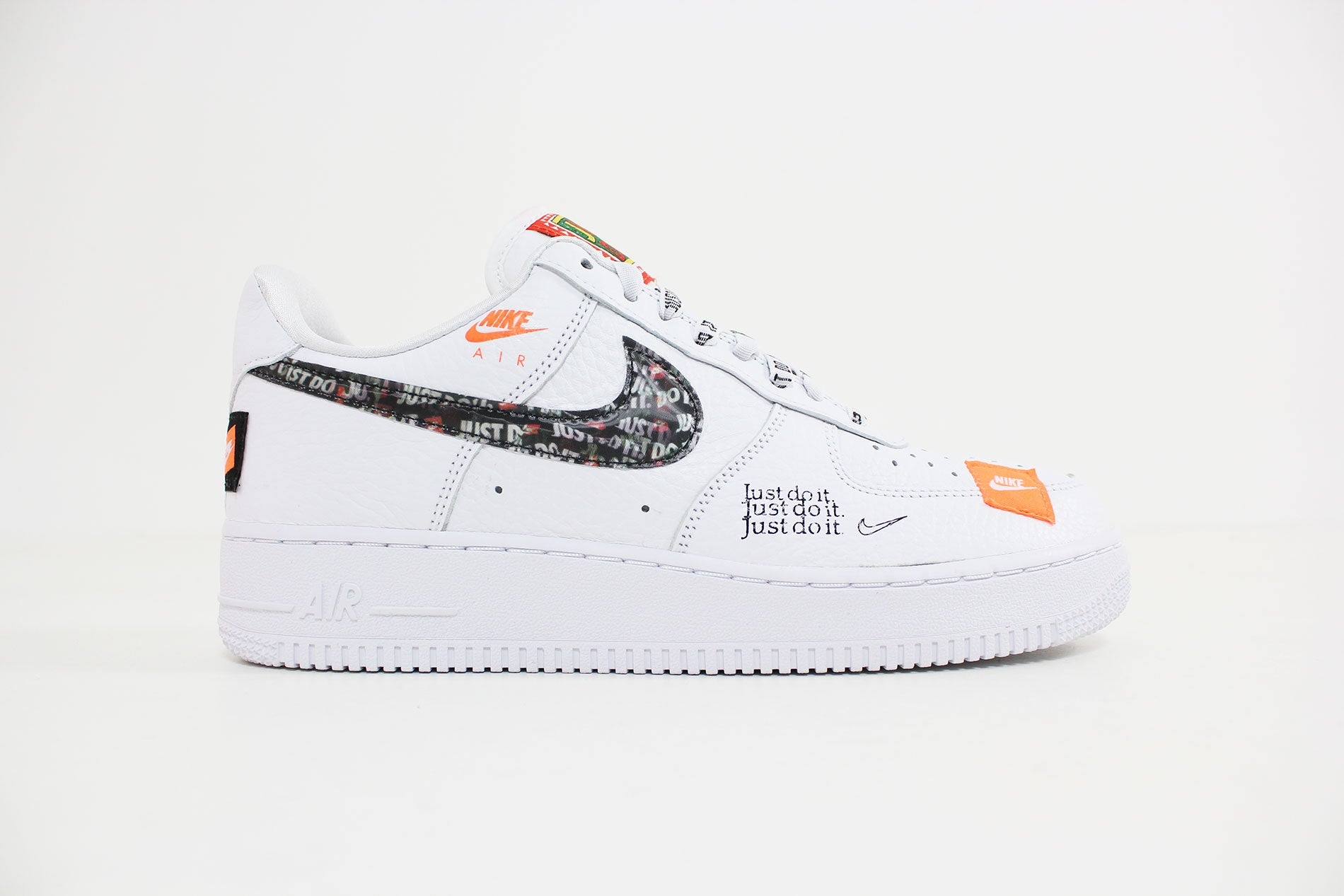 Nike Air Force 1 Premium JDI (WhiteWhite Black Total