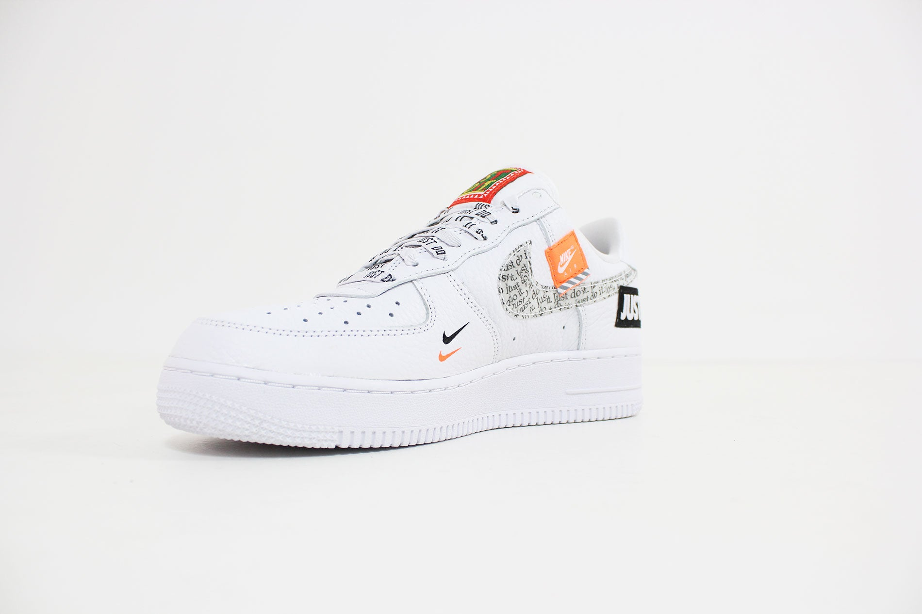 ... uk nike air force 1 premium jdi white white black total orange ar7719  100 f9e73 c5e99 3458fc995