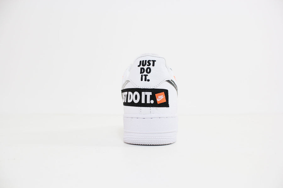Nike - Air Force 1 Premium JDI (White/White-Black-Total Orange) AR7719-100
