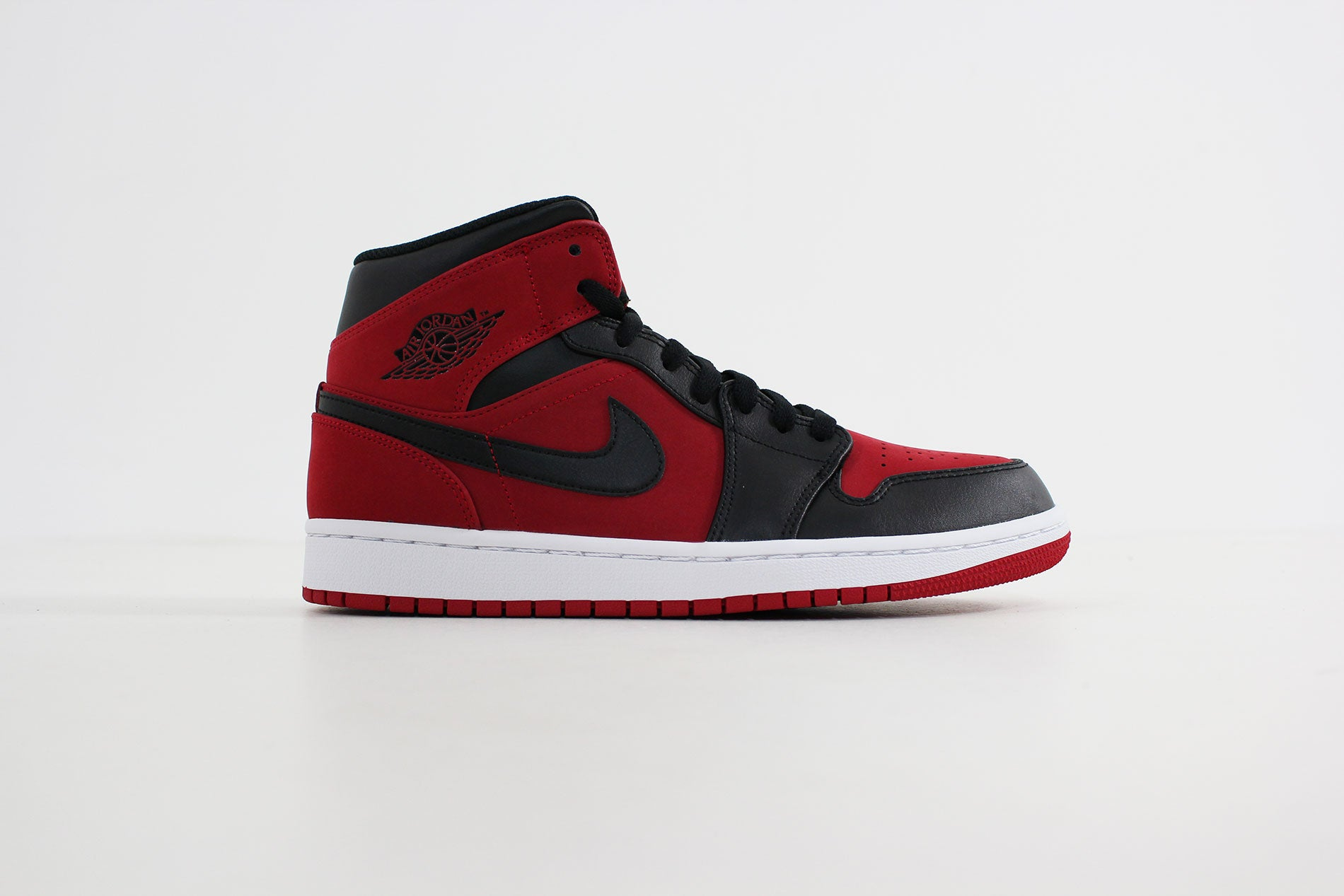 Nike - Air Jordan 1 MID (Gym Red/ Black-White) 554724-610