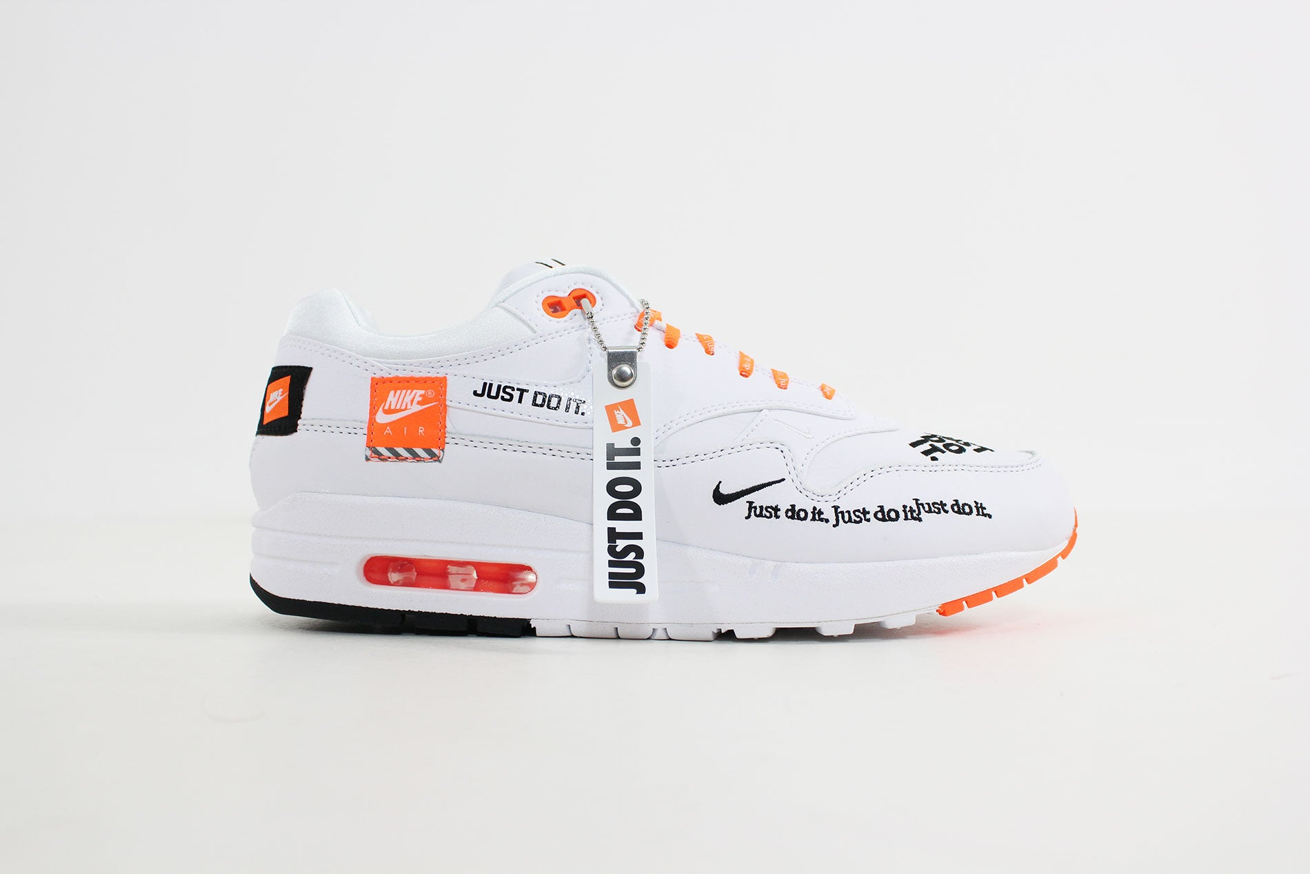 Nike - Air Max 1 Lux Women (White/Black Total Orange) 917691-100