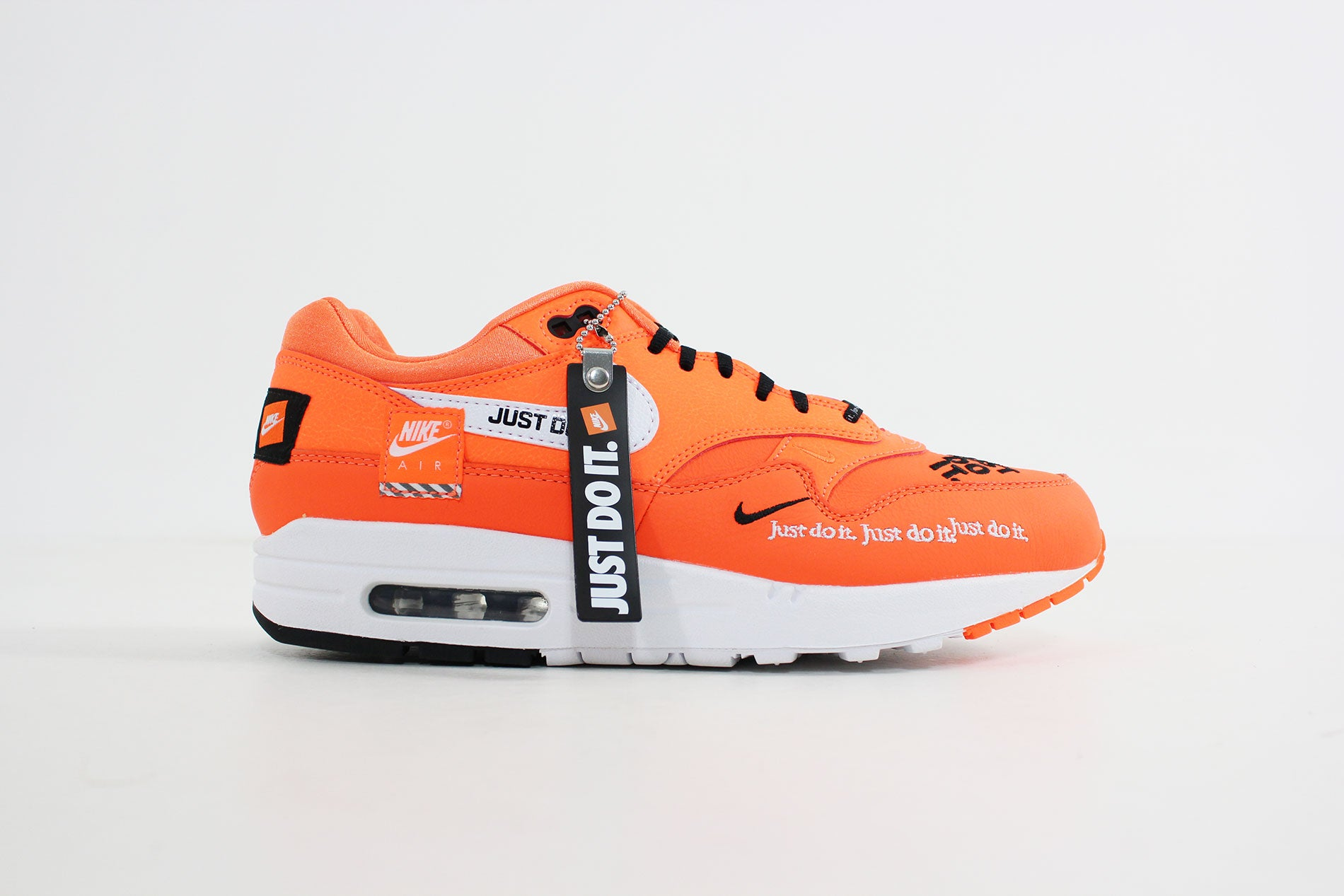 new product 1aba7 f5c67 Nike - Air Max 1 Lux Women (Total Orange/ White Black) 917691-