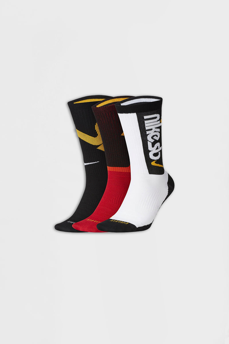 Nike - Skate Crew Socks (Multi-Color) CQ0325-902