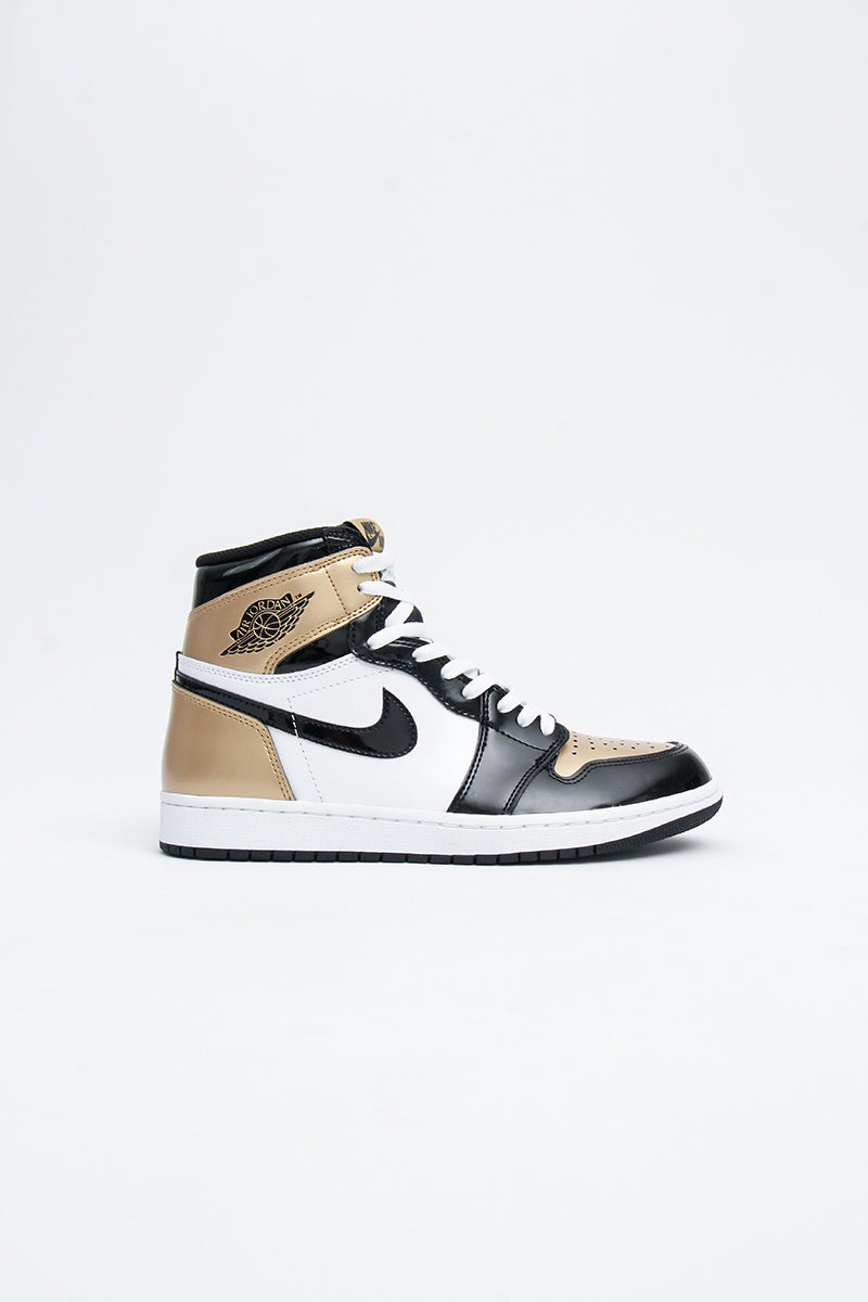 Air Jordan - 1 (Black/ Metallic Gold - Summit White) 861428-007