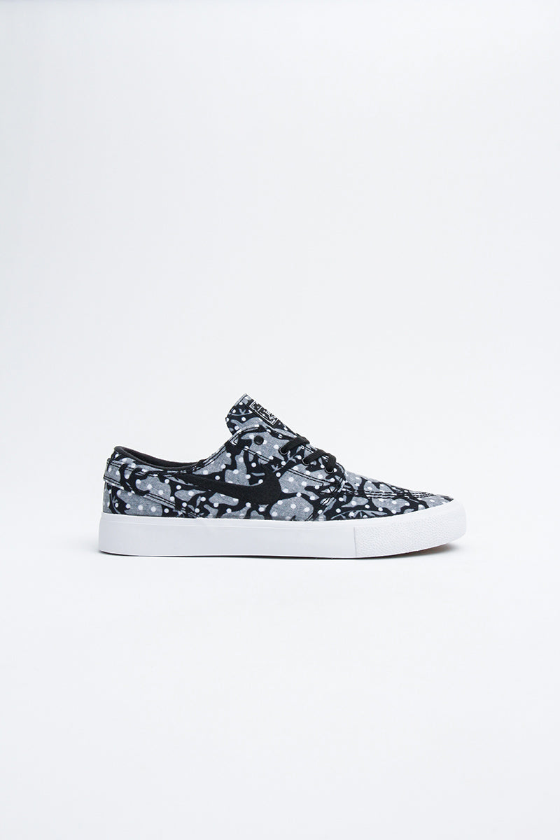 Nike - Zoom Janoski Canvas RM (black/white-vast grey-gum light brown) AR7718-003