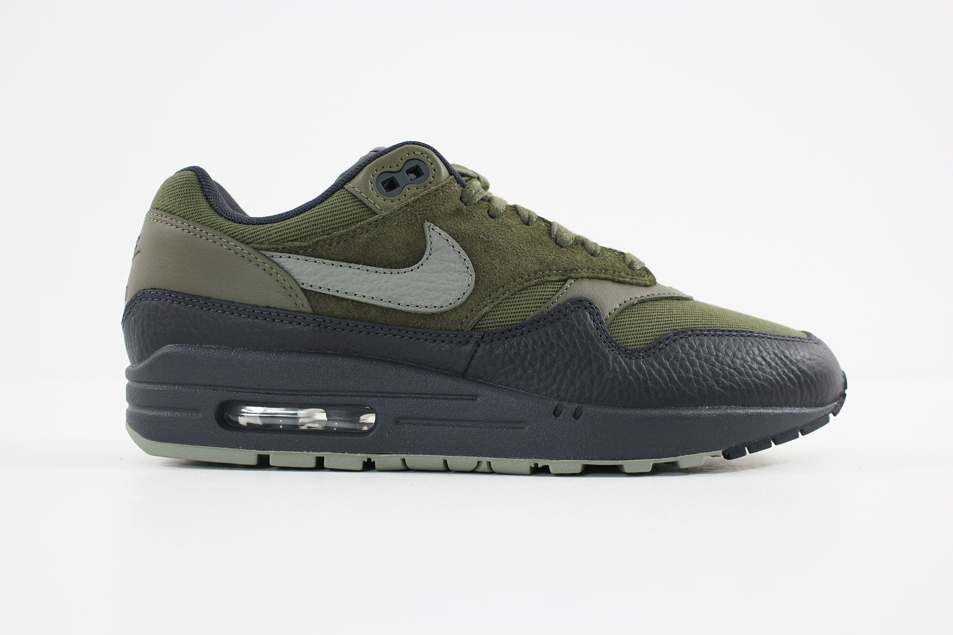buy online d714e 20f2e Nike - Men's Air Max 1 Premium Shoe (MEDIUM OLIVE/DARK STUCCO-ANTHRACITE