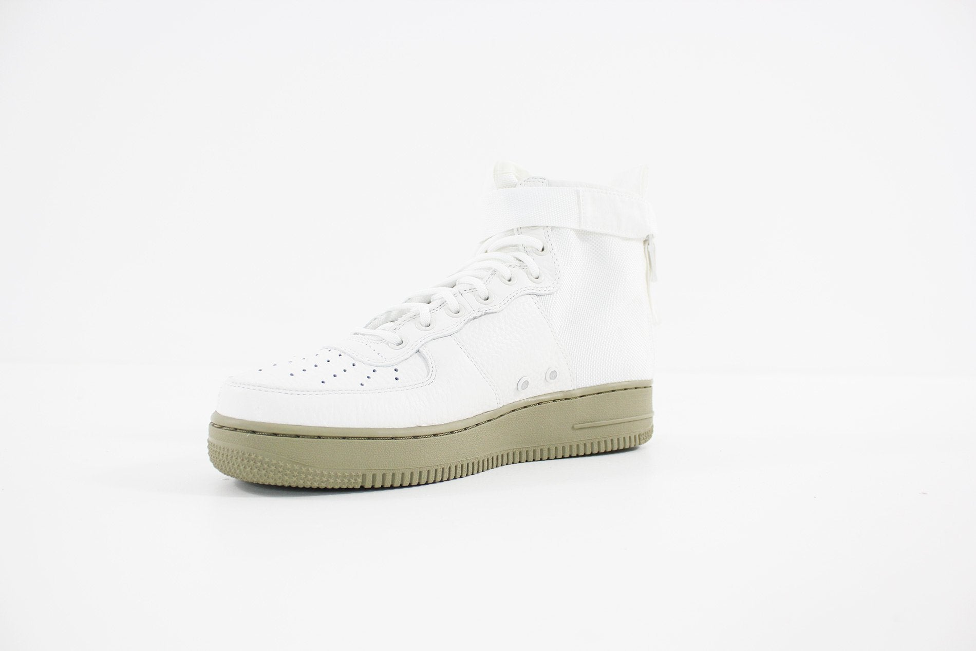 6ffa3c797aac Nike - Men s SF Air Force 1 Mid Shoe (IVORY IVORY-NEUTRAL OLIVE) 917753-101