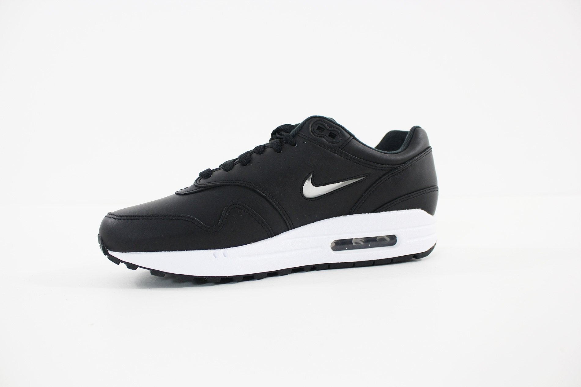 buy popular 8b815 3093f ... usa nike mens air max 1 premium sc shoe black metallic silver white  918354 001 4cae6