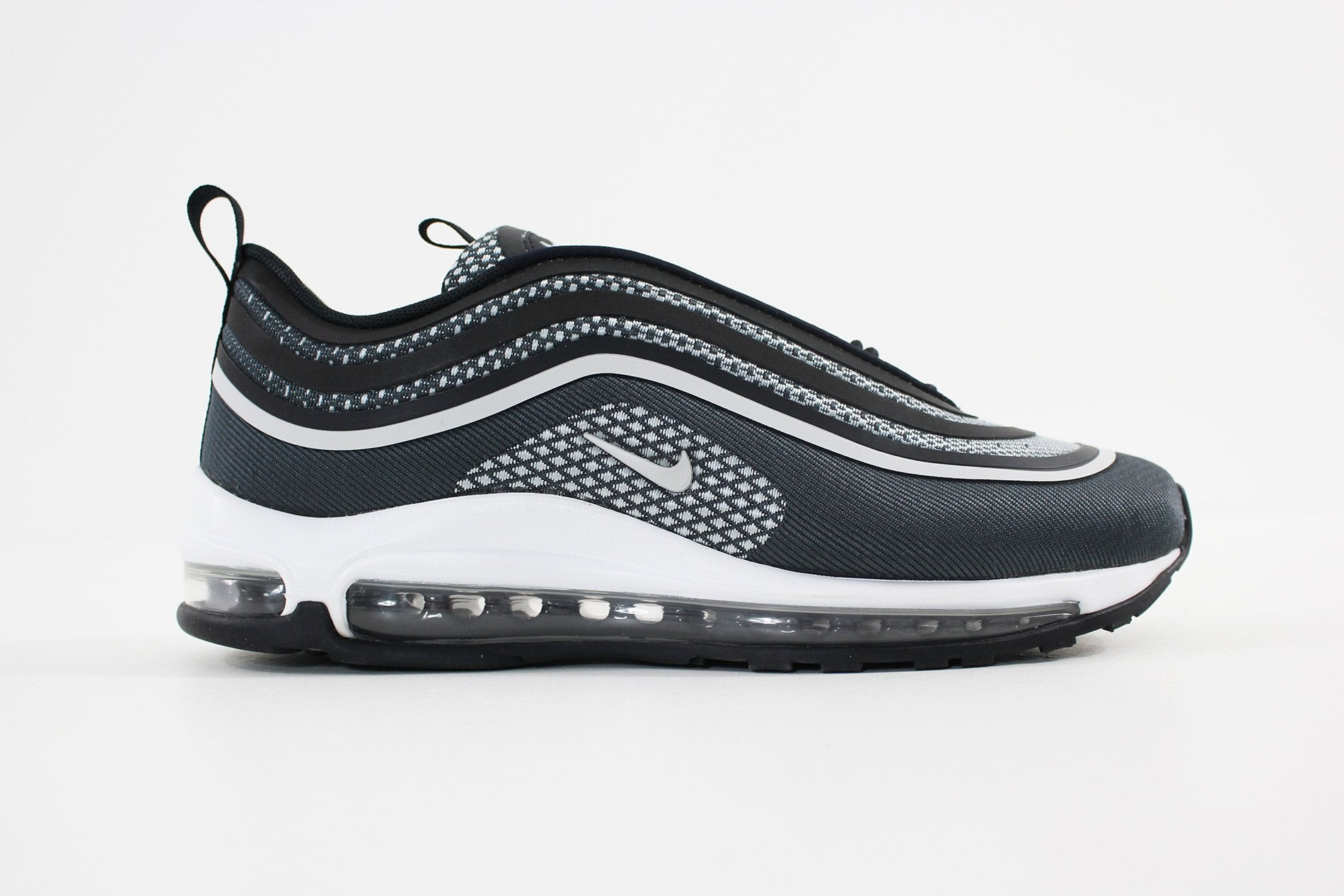 nike men 39 s air max 97 ul 39 17 black pure platinum. Black Bedroom Furniture Sets. Home Design Ideas