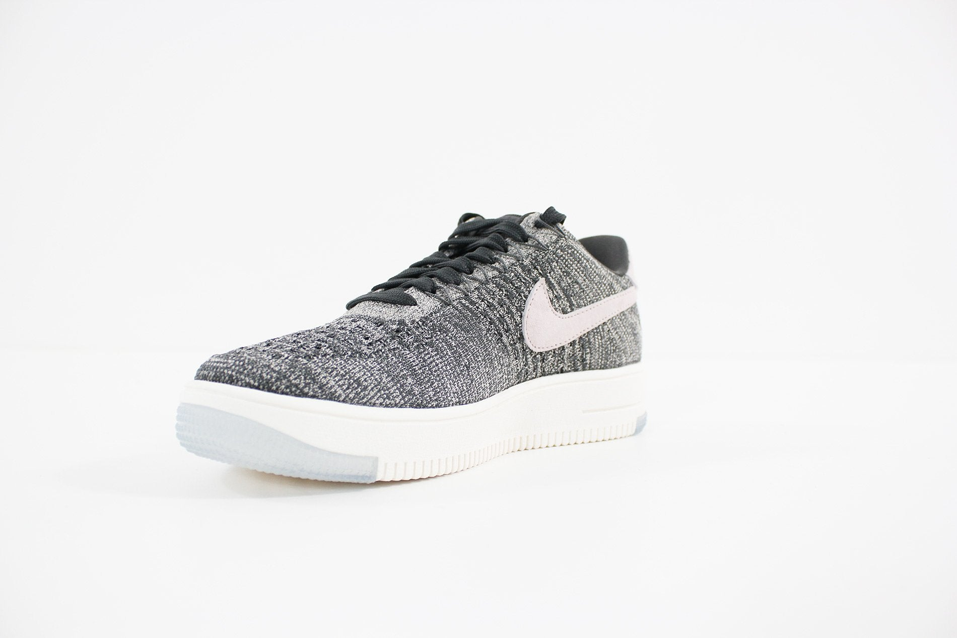 Nike - Air Force 1 Flyknit Low (MIDNIGHT FOG/SILT RED-IVORY-STRING) 820256-008
