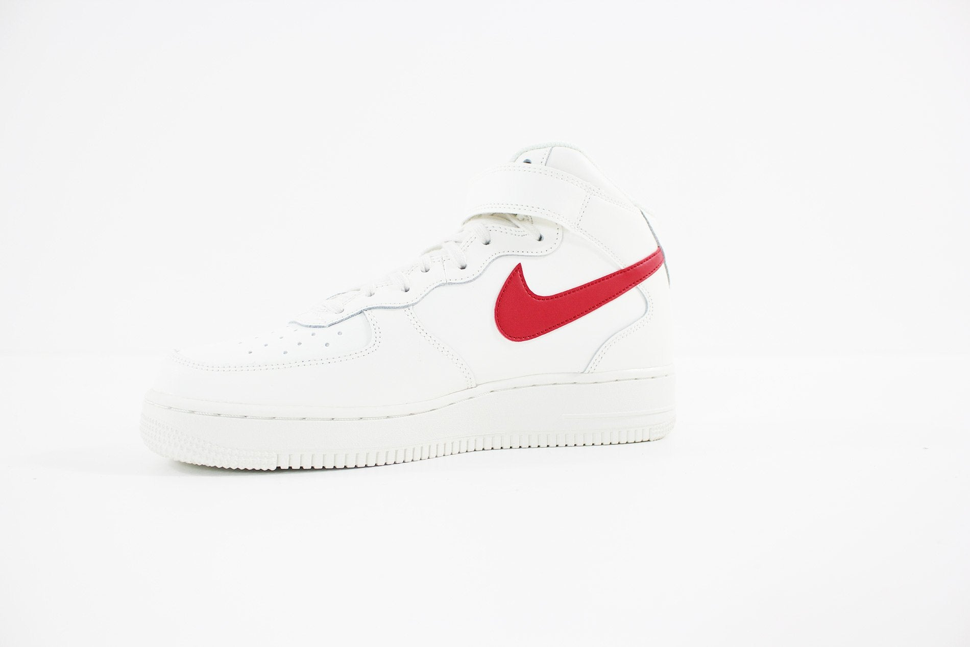 info for 8ee29 95386 Nike - Air Force 1 Mid 07 (SAIL UNIVERSITY RED) 315123-126