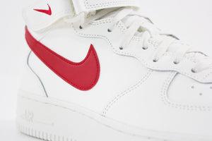Nike Air Force 1 Mid rosso