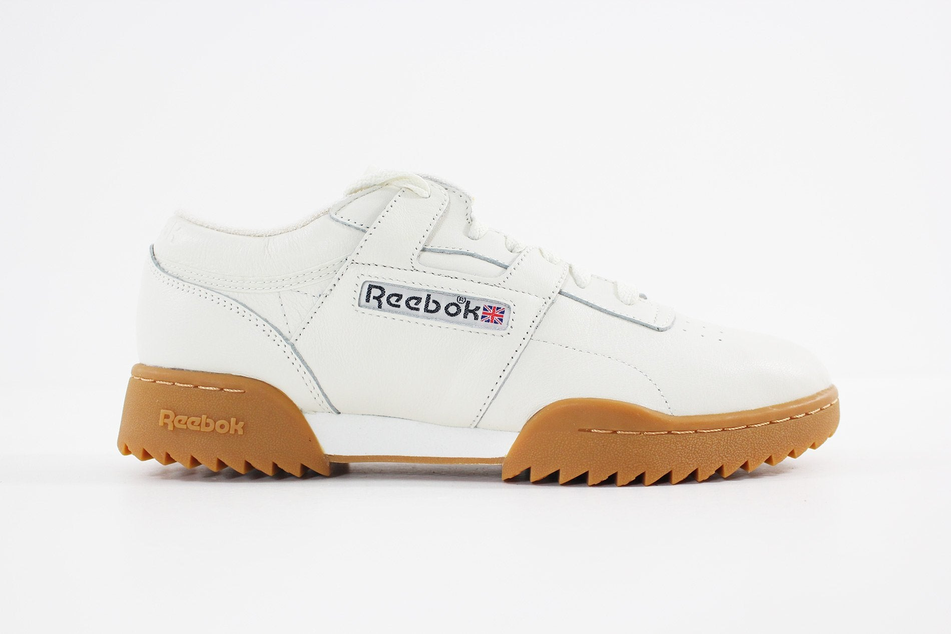 Reebok - WORKOUT CLEAN RIPPL (CHALK/BLACK-GUM) BS8929