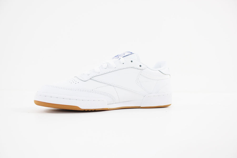 Reebok - CLUB C 85 (WEISS / ROYAL / GUM)