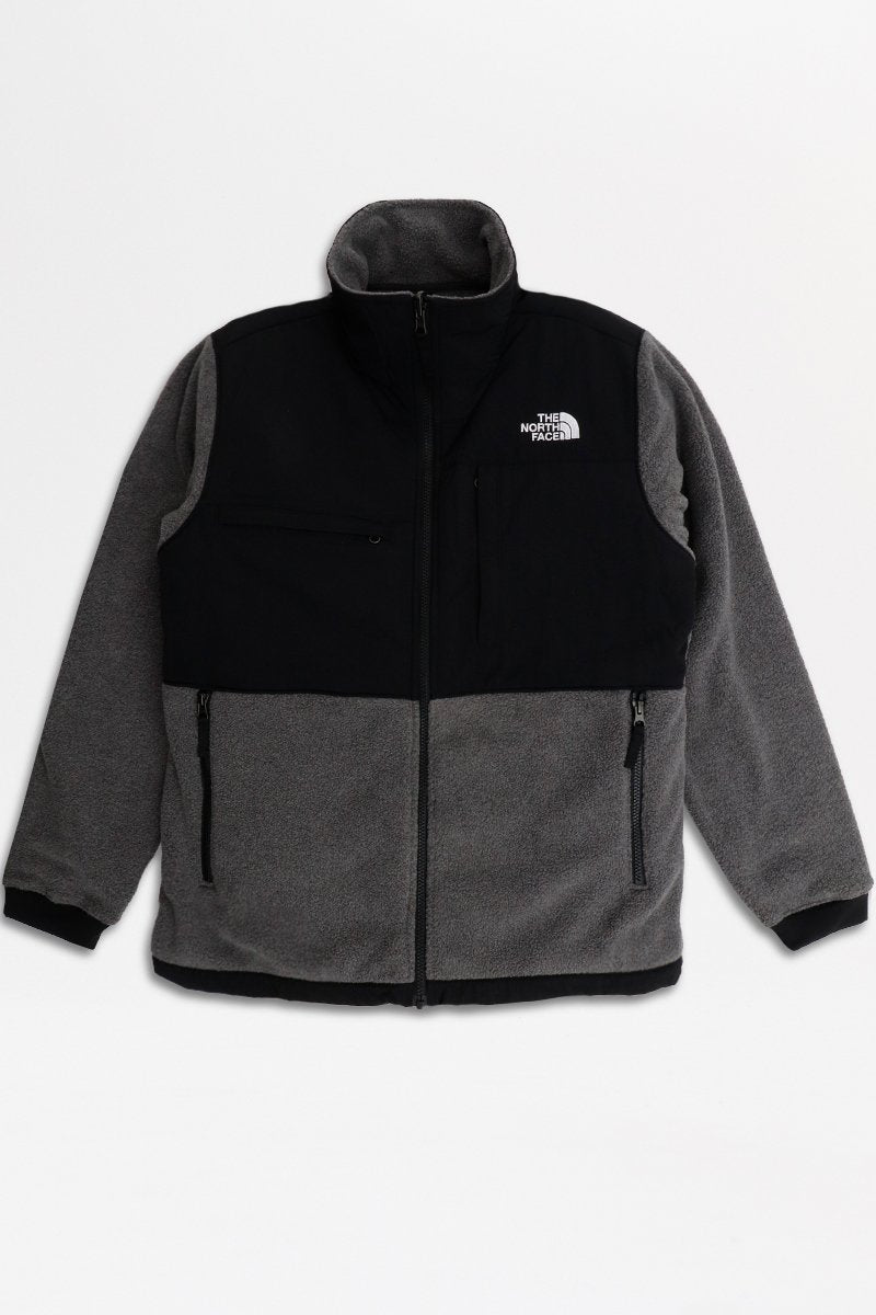 The North Face - Denali Jacket 2 (EU Chcoal/ Grey Het) A3XAU6