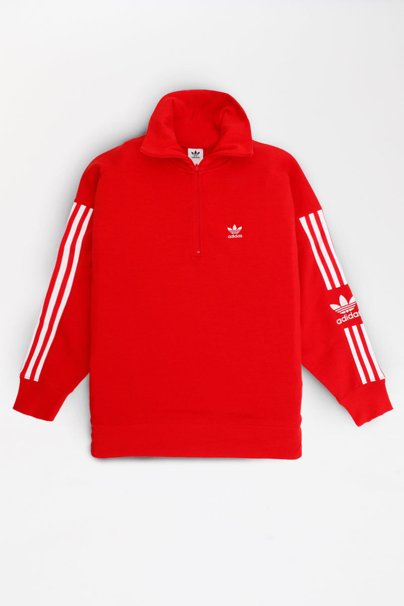 Adidas - Lock Up Half Zip Sweater Women (Scarlet) ED7527