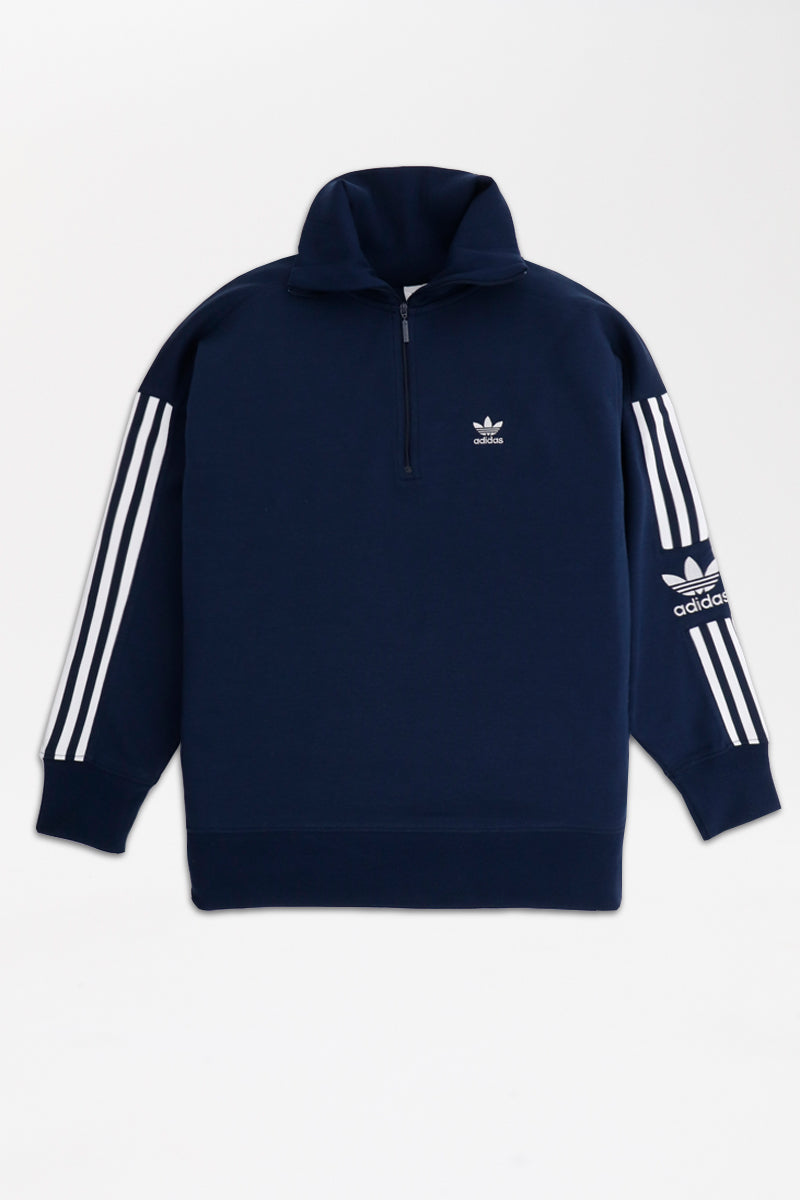 Adidas - Lock Up Half Zip Sweater Women (Collegiate Navy) ED7528