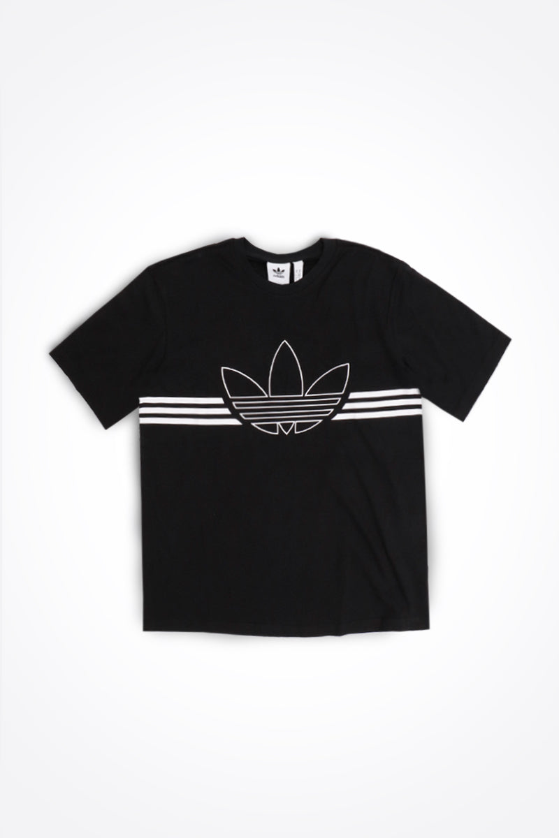Adidas - Outline Trefoil T-Shirt (Black) ED4698