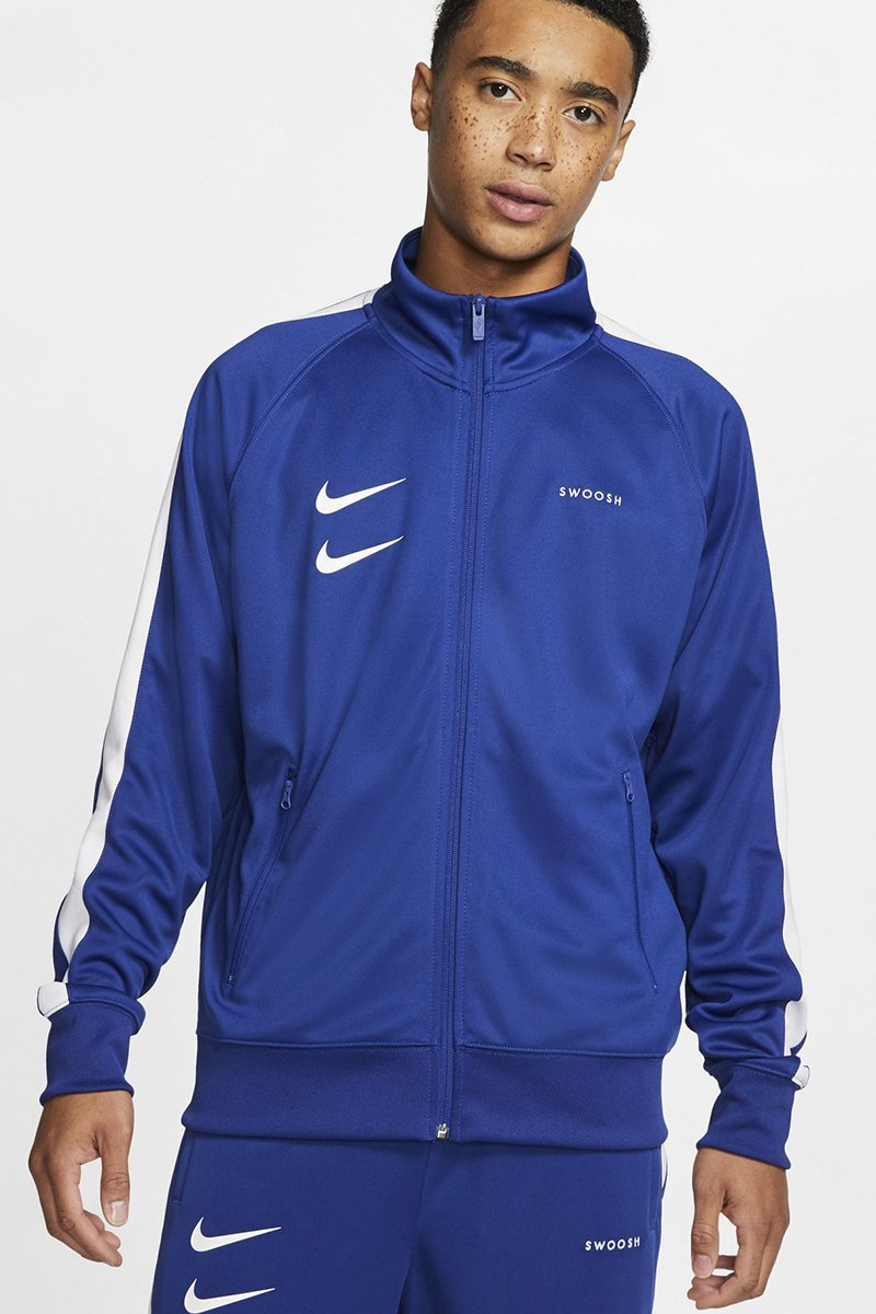Nike - Swoosh Jacket (Deep Royal/ White/ Black/ White) CJ4884-455