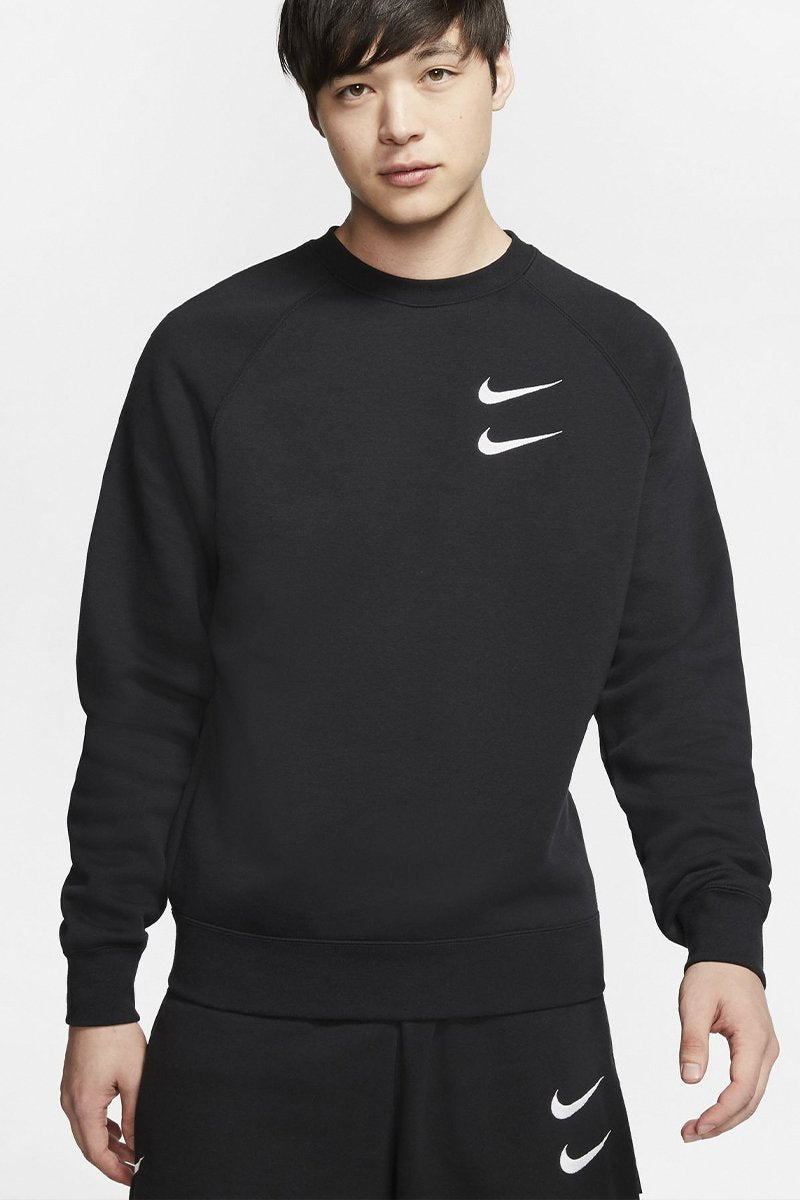 Nike - Oversized Crewneck (Black/ White) CJ4865-010