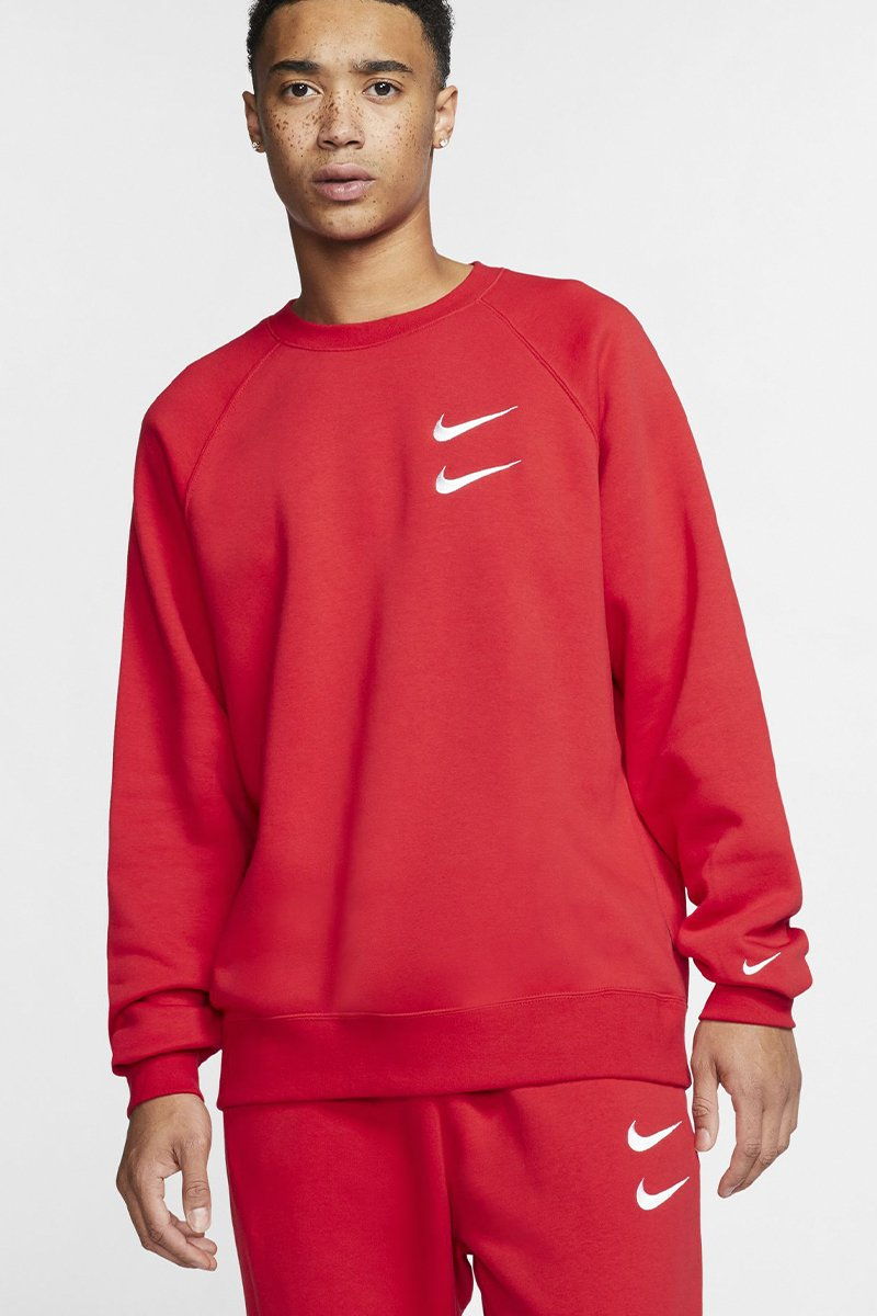 Nike - Oversized Crewneck (University Red/ White) CJ4865-657