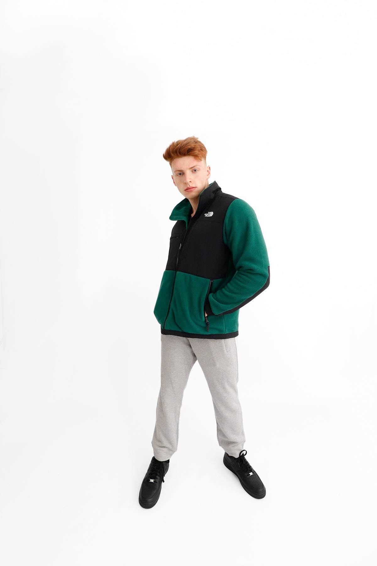 The North Face - Denali Jacket 2 (EU Night Green)  A3XAUN3P