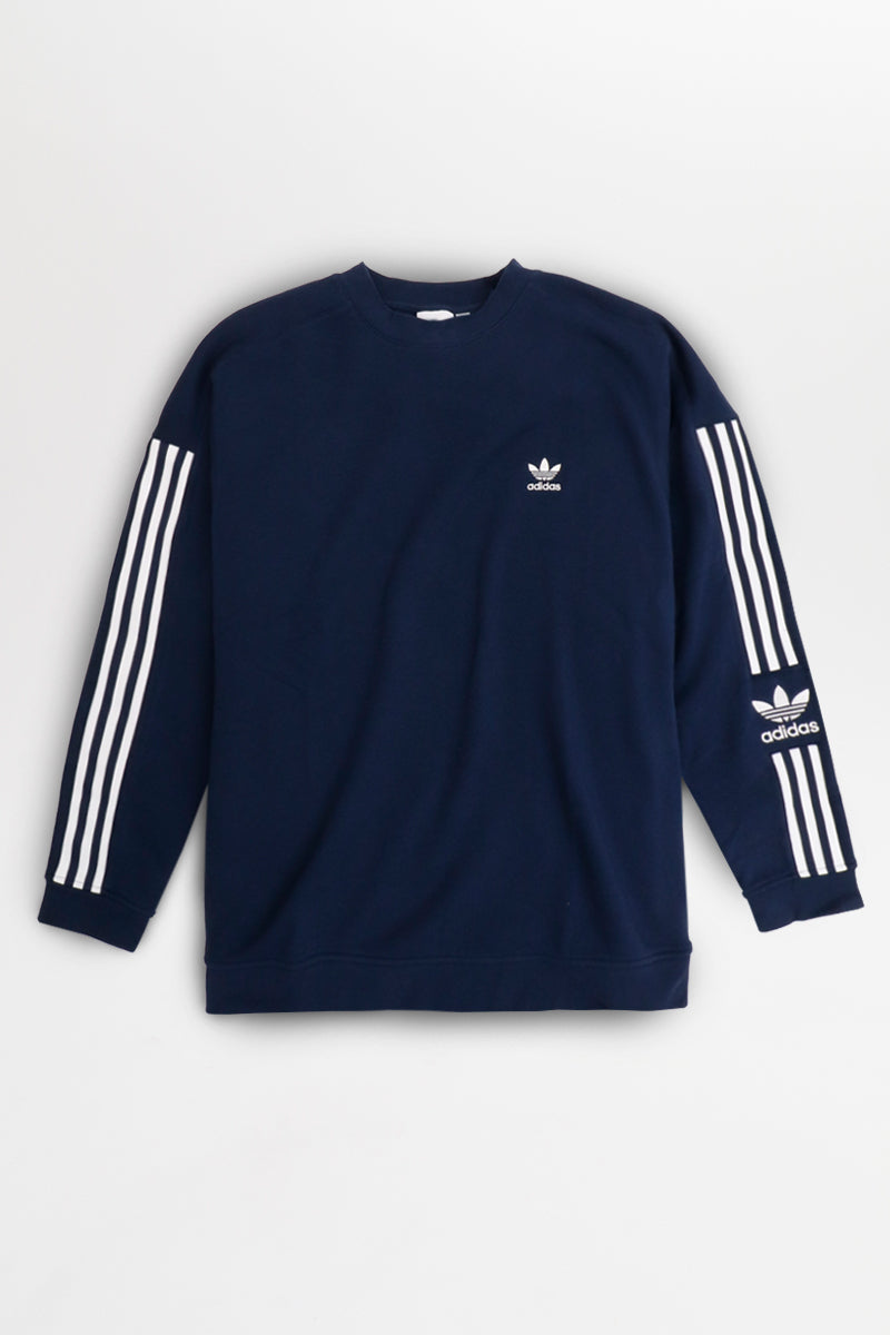 Adidas - Tech Crewneck (Collegiate Navy) ED6122