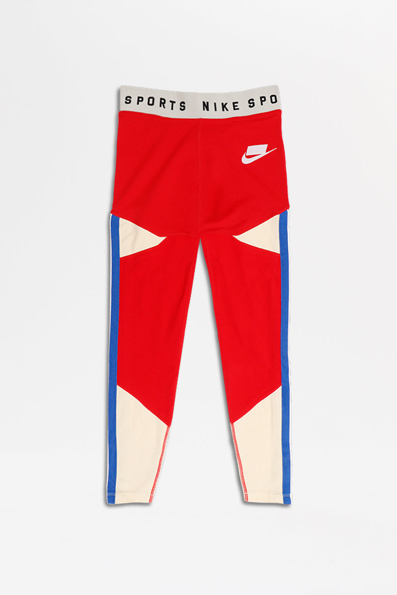 Nike - Sportswear NSW Graphic Leggings Womens(University Red/ Muslin/ White) BV2941-657