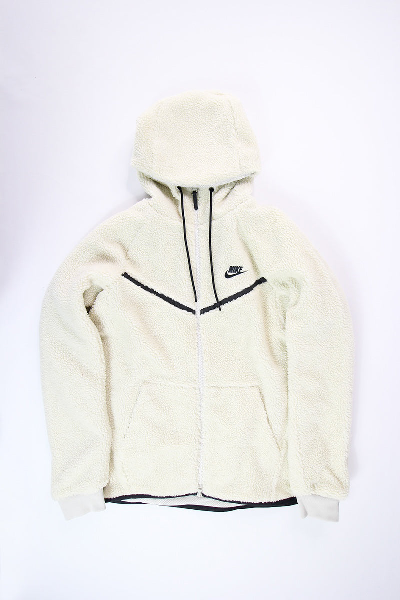 Nike Tech Fleece Icon Windrunner Sherpa Hoodie Black AQ2767 010 Men's S XXL
