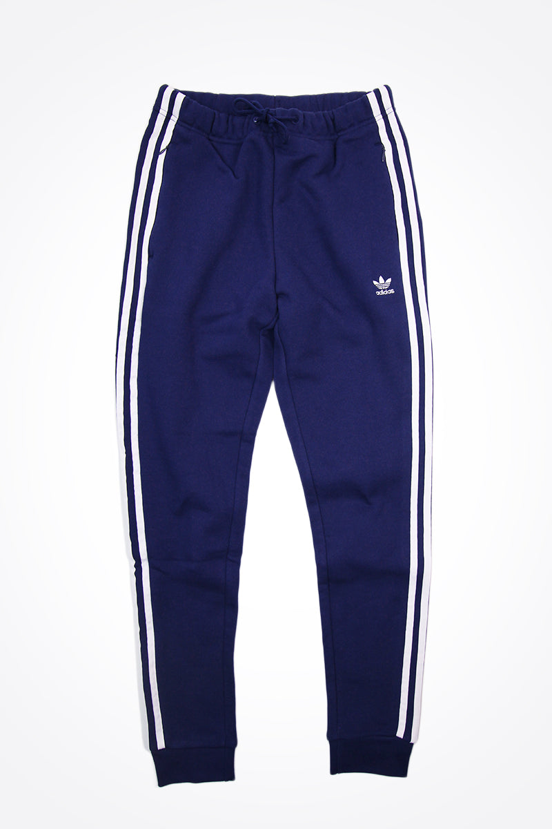 Adidas - Women's Regular 3 Stripes Track Pants (Dark Blue) DV2588