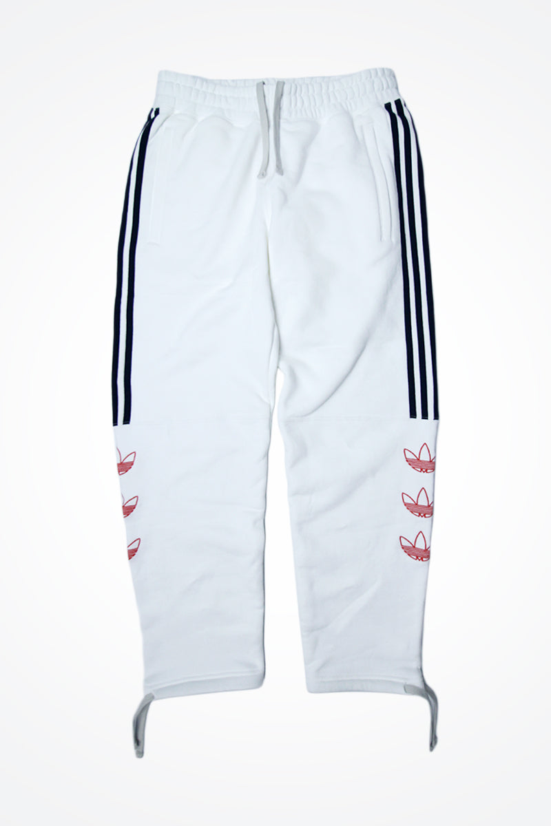 Adidas - Tourney Trefoil Sweat Pants (White) DV3148