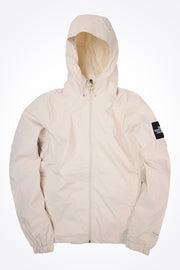 The North Face - Wasserdichte Mountain Q Jacke in Weiß - T0CR3Q
