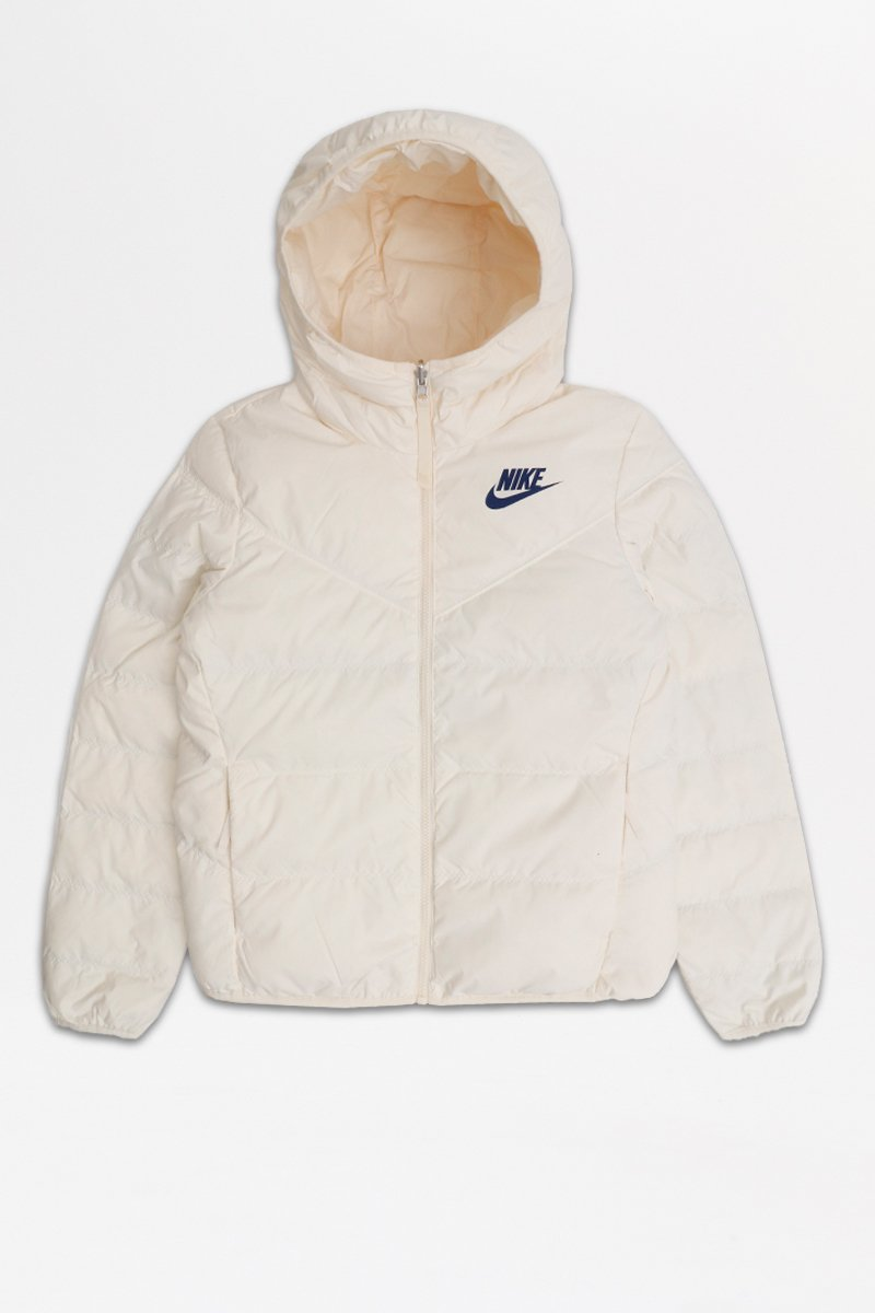 Nike - Windrunner Down-Fill Reversible Jacket (Pale Ivory/ Blue Void/ Blue Void) 939438-110