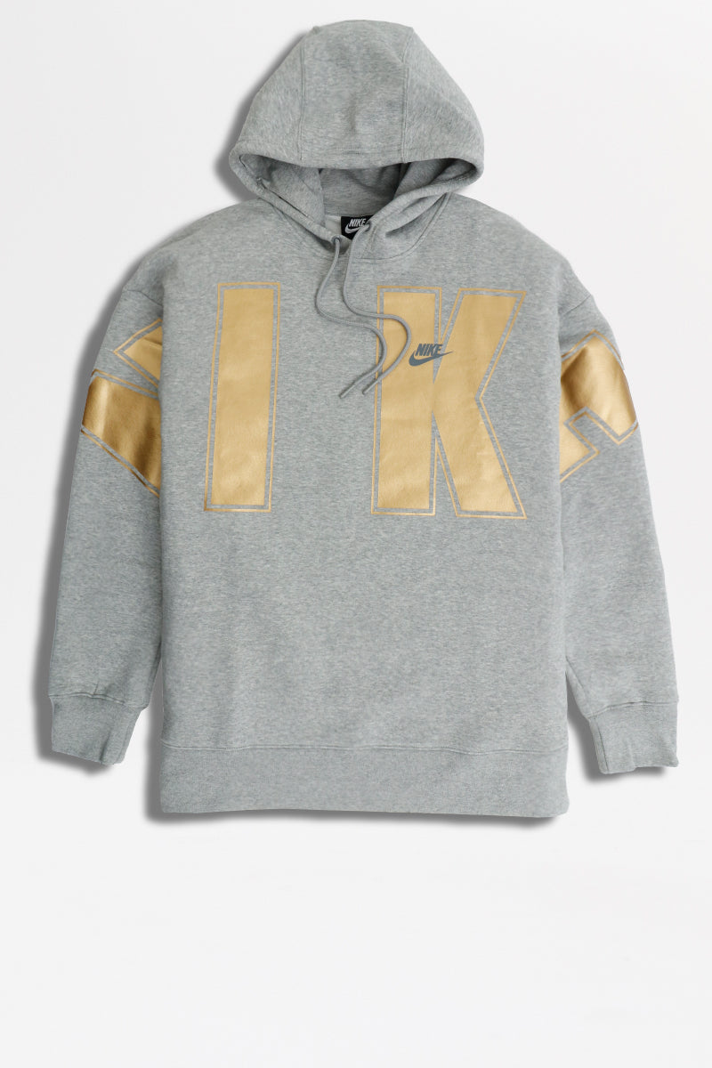 Nike - Fleece Hoodie (DK Grey Heather) CQ0242-064