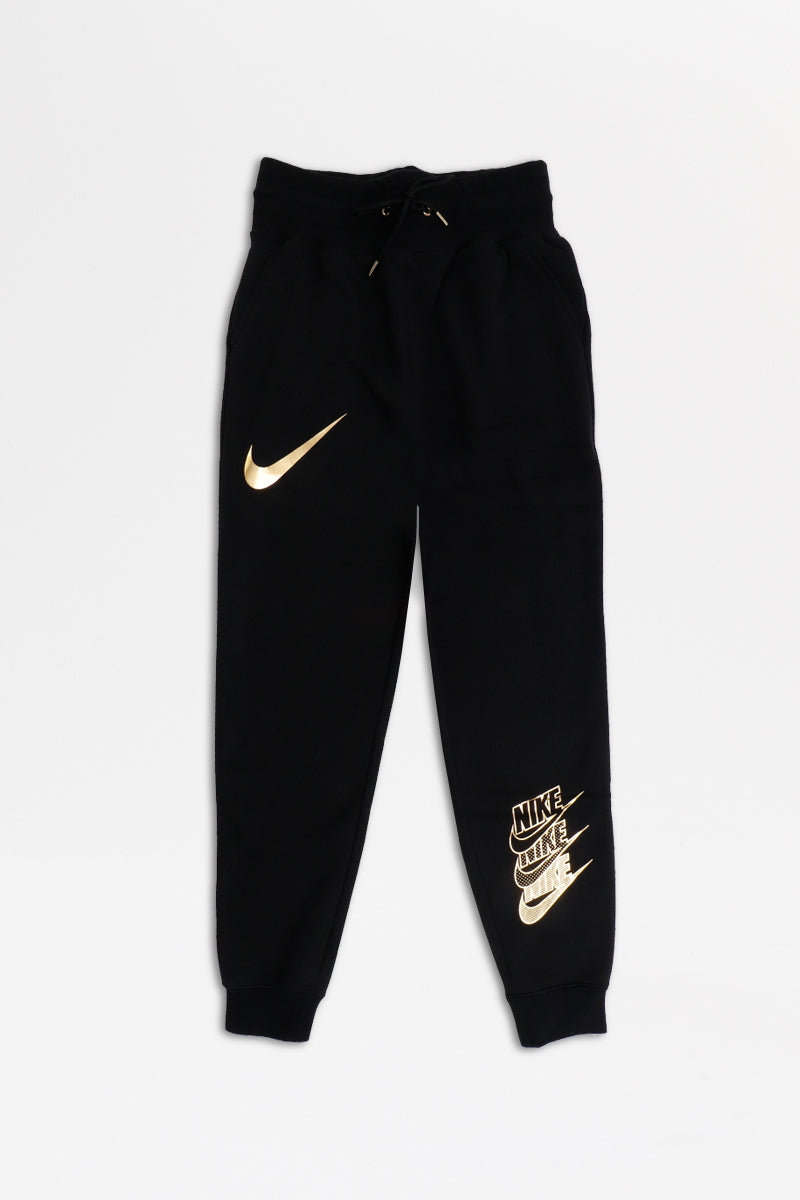Nike - Pants Women (Black/ Black/ Metallic Gold) BV5033-010