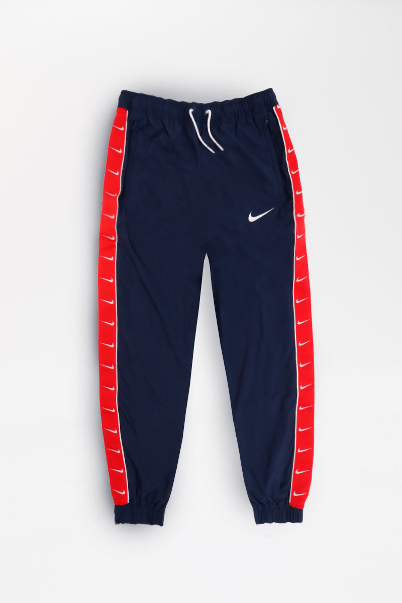 Nike - Sportswear Swoosh Pants (Obsidian/ University Red/ White) CD0421-451