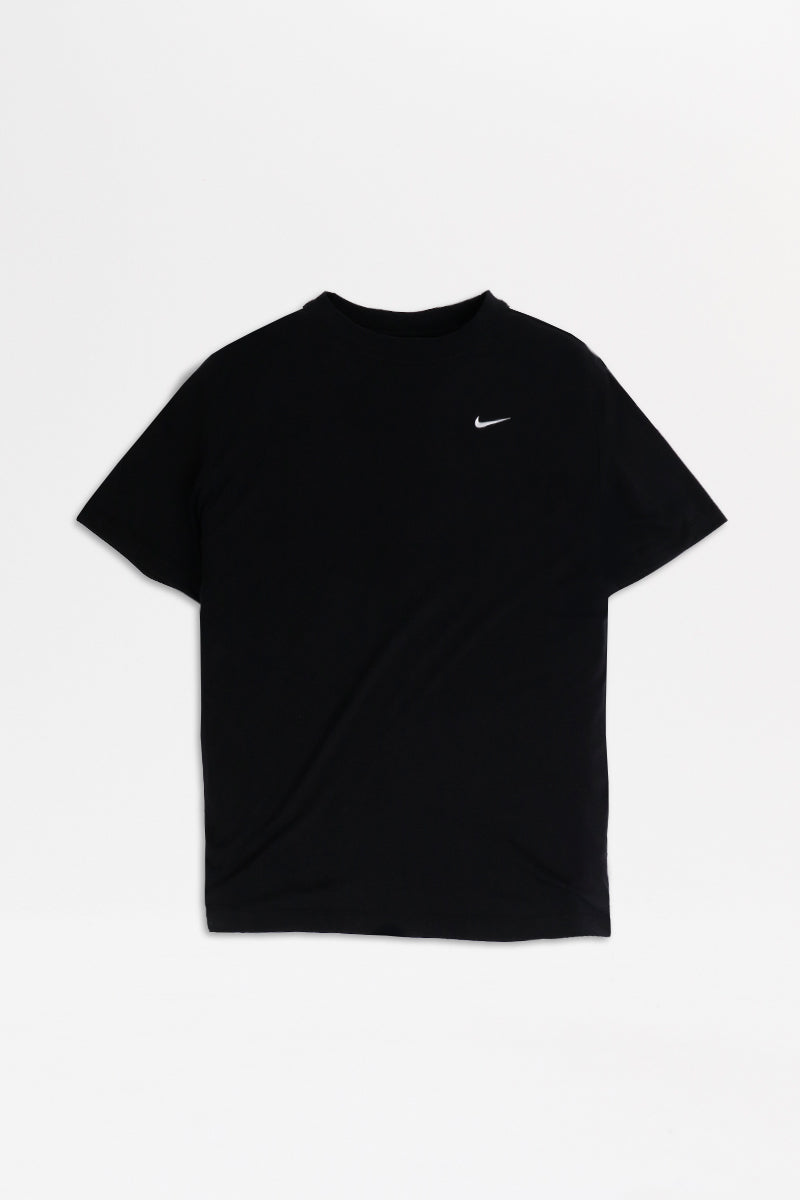 Nike - Sportswear Essentials Short Sleeve Top Womens (Black/ White) BV3929-010