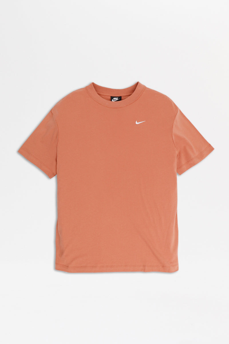 Nike - Sportswear Essentials Short Sleeve Top Womens (Terra Blush/ White) BV3929-260