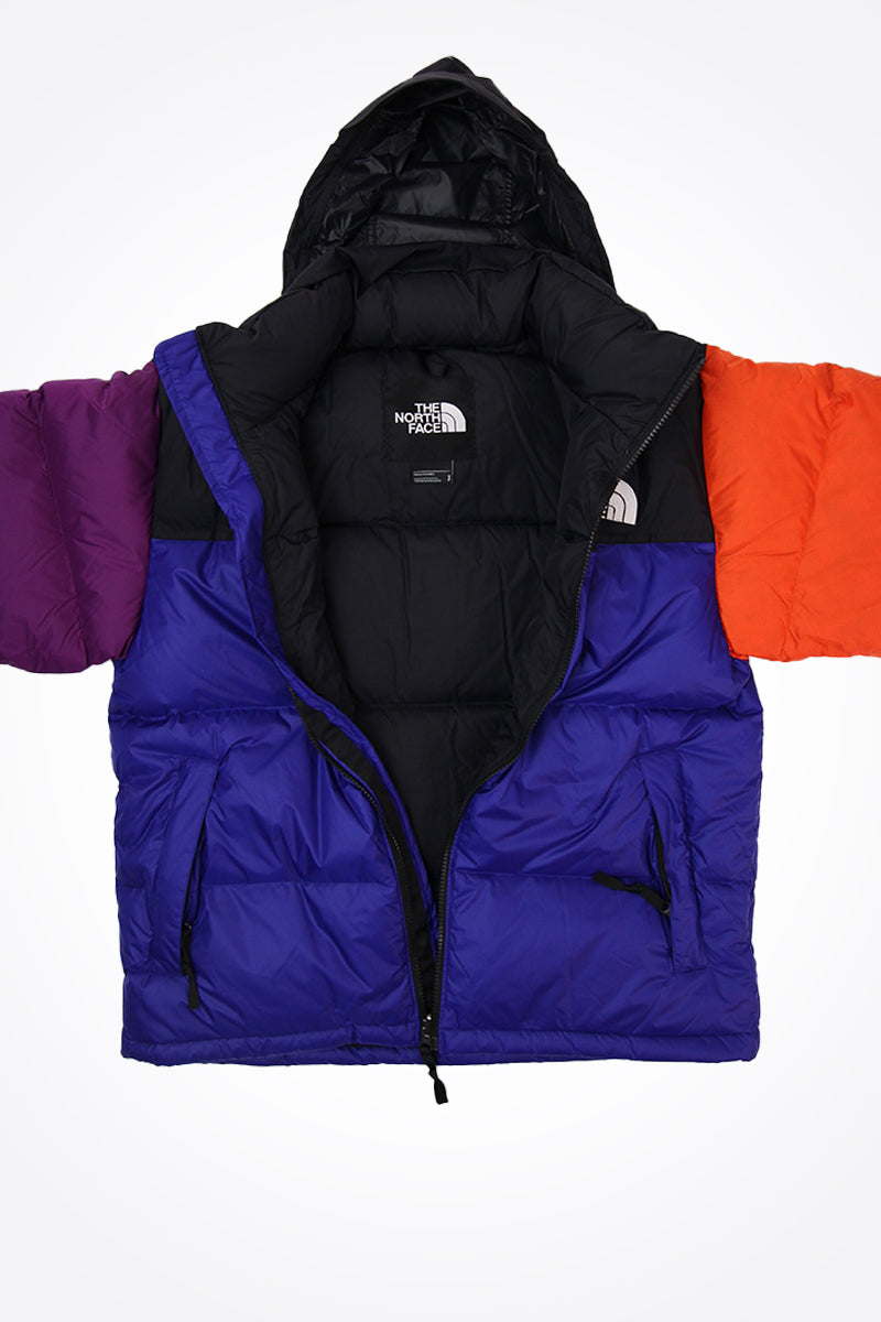 The North Face - 1996 Retro Nuptse regenfeste Jacke in Rageblau - T93C8D