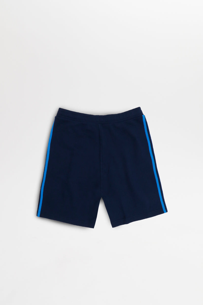 Adidas - Marineblaue 3-Stripes Sport Shorts - EJ9691