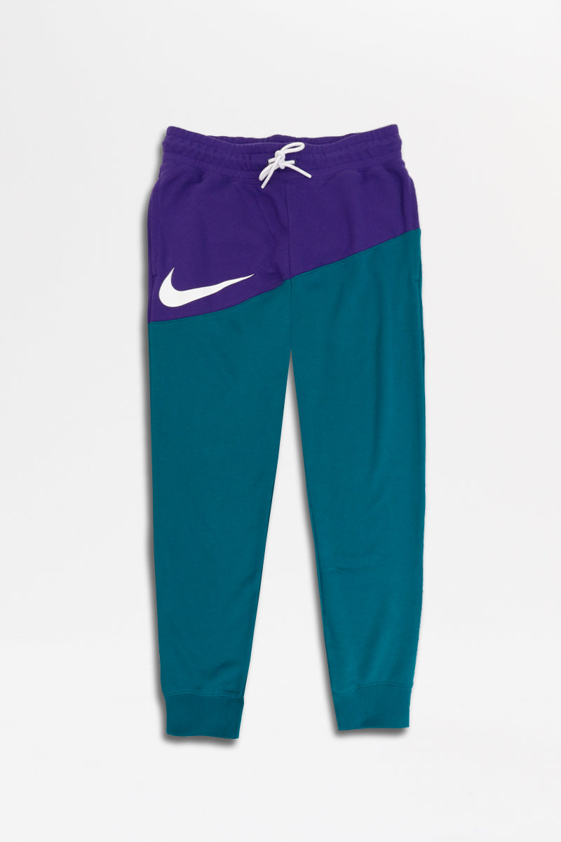 Nike - Sportswear Swoosh Pants (Court Purple/ Goede Teal/ White) BV5297-547