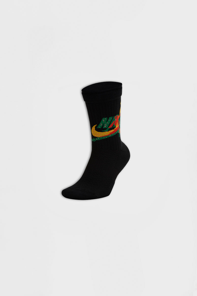 Air Jordan - Crew Socks (Black/ Amarillo/ Clover) CU2956-011