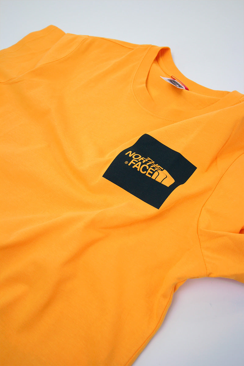 The North Face - Fine T-Shirt (Zinnia Orange) T0CEQ5