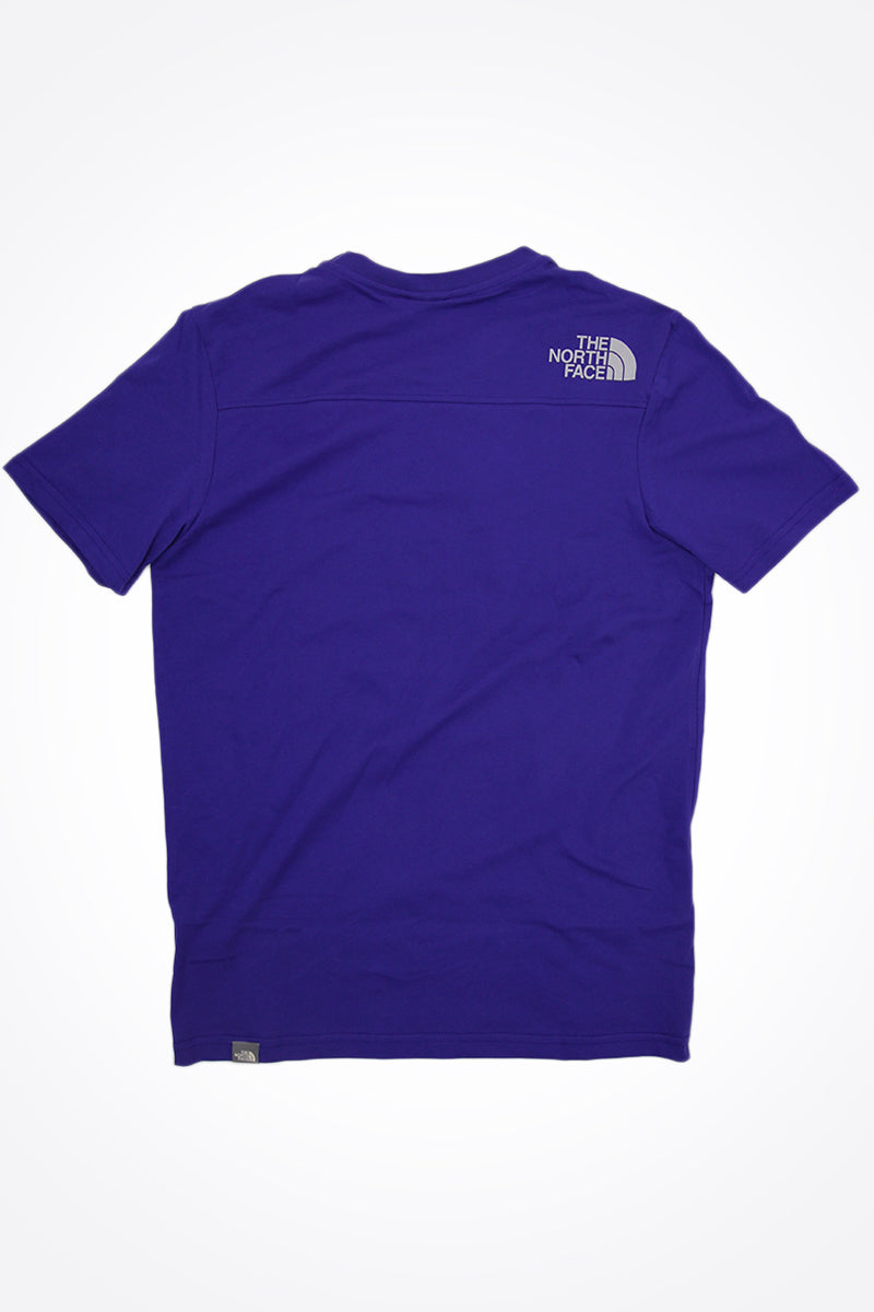 The North Face - T-Shirt mit Rundhalsausschit in Lapisblau - T93S3O