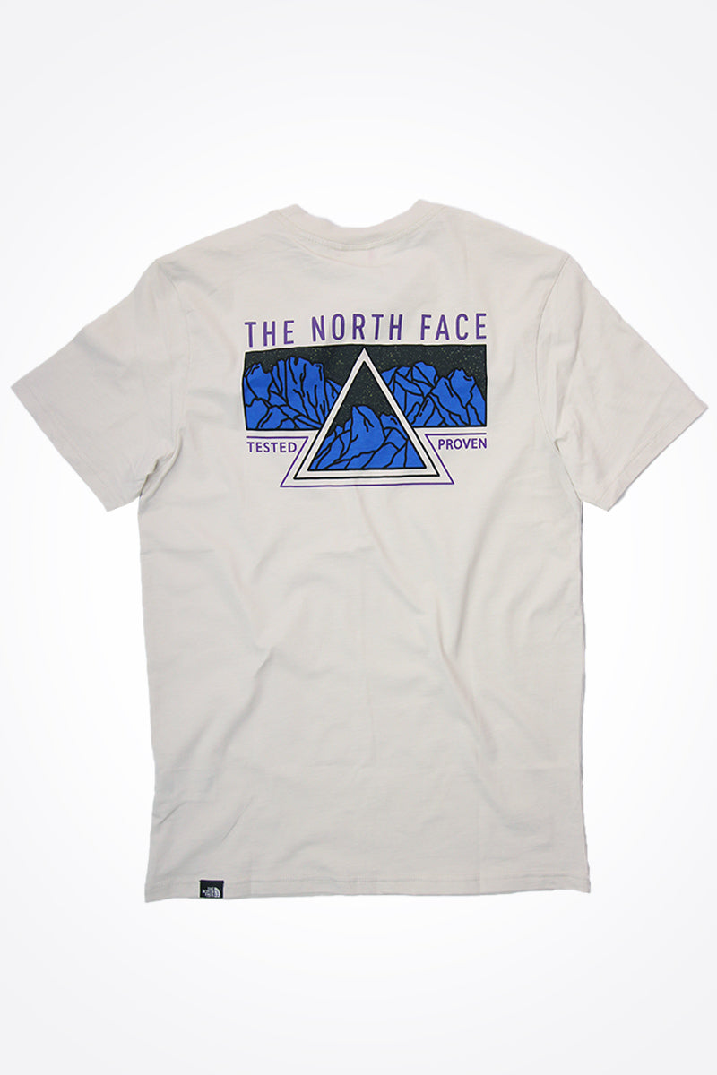 The North Face - Ridge T-Shirt (Vintage White) T93L3H